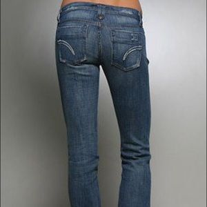 Joe's Jeans size 29 Rocker Small Flare Jeans